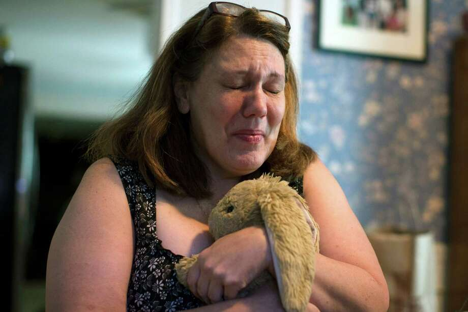 In this Wednesday, Sept. 2, 2015, photo, Dorothy McIntosh Shuemake, mother of Alison Shuemake, is interviewed at her home, in Middletown, Ohio. Alison Shuemake, 18, died Aug. 26, after a suspected heroin overdose when she and her partner were found unresponsive at their home and needles were present nearby. (AP Photo/John Minchillo) Photo: John Minchillo, STF / AP