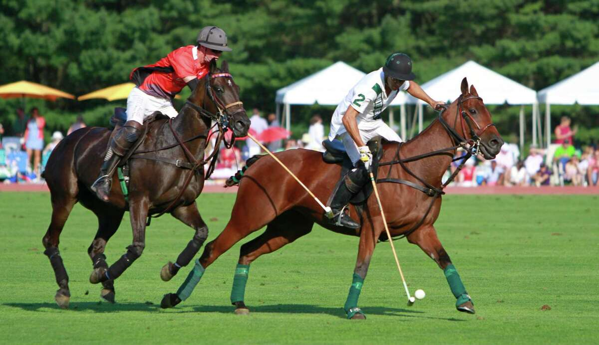 Scenes from the East Coast Open Polo Championship at the Greenwich Polo Grounds in Greenwich, Conn. on Sunday Sept. 6, 2015. Team Audi defeated White Birch Farm in overtime 14-13.
