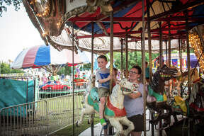 Hill Country Texans headed to Boerne for carnival rides, cotton candy and a rodeo during its historic 110th annual Kendall County Fair.