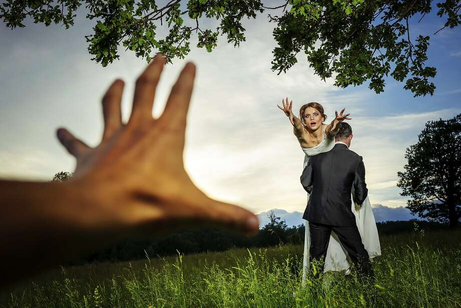 A bride worries that her ex will get in the way of her wedding day. Photo: Coloroftime