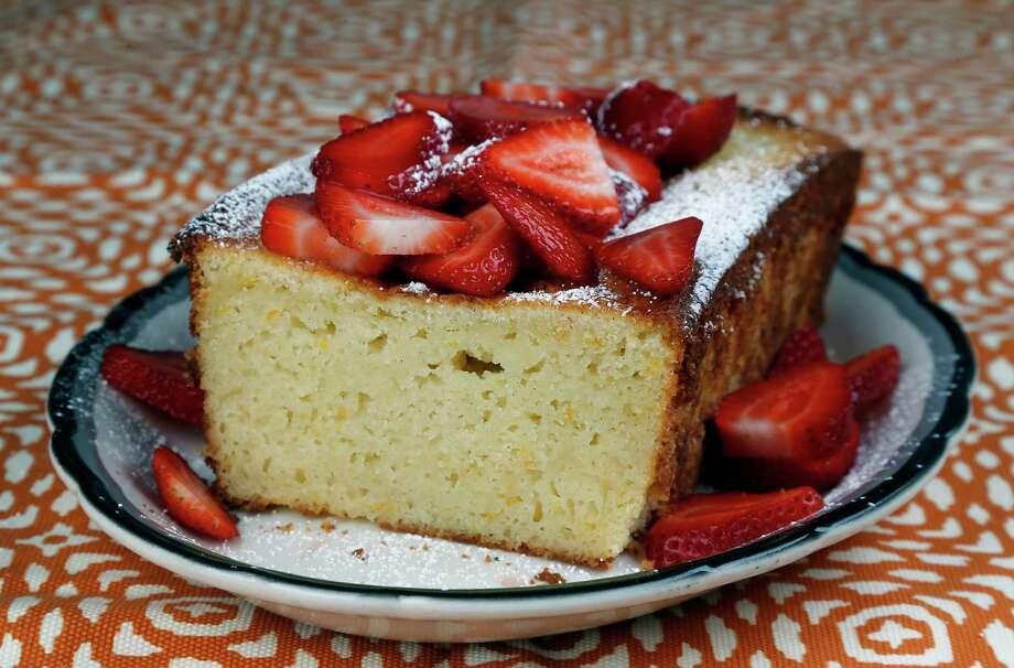 Ricotta Orange Pound Cake Photo: James Nielsen, Staff / © 2015  Houston Chronicle