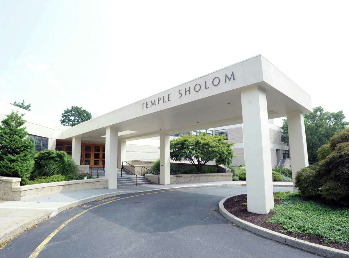 Temple Sholom in Greenwich, Conn., Friday, Sept. 4, 2015. Temple Sholom will be celebrating their100th anniversary in 2016. As part of 100th anniversary celebration, the Temple Sholom congregation will participate in the writing of a new sefer Torah.