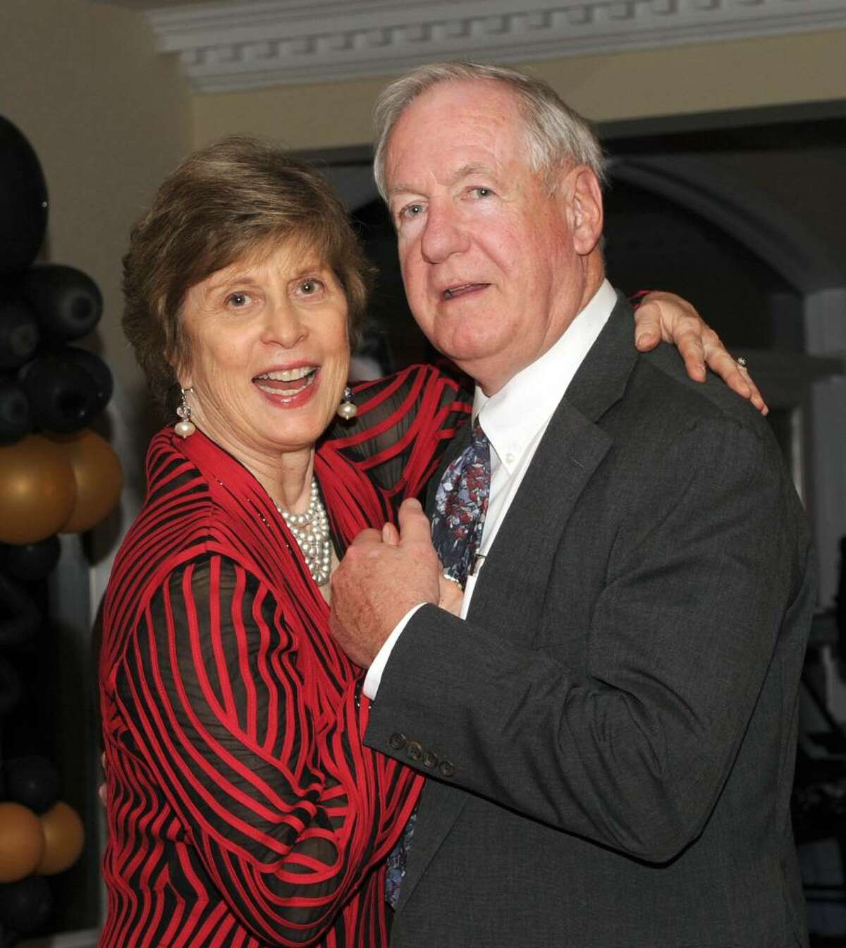 Former Brookfield First Selectman Jerry Murphy and his wife Susan, dance together at the Oscar Night Gala, Saturday, March 20, 2010.