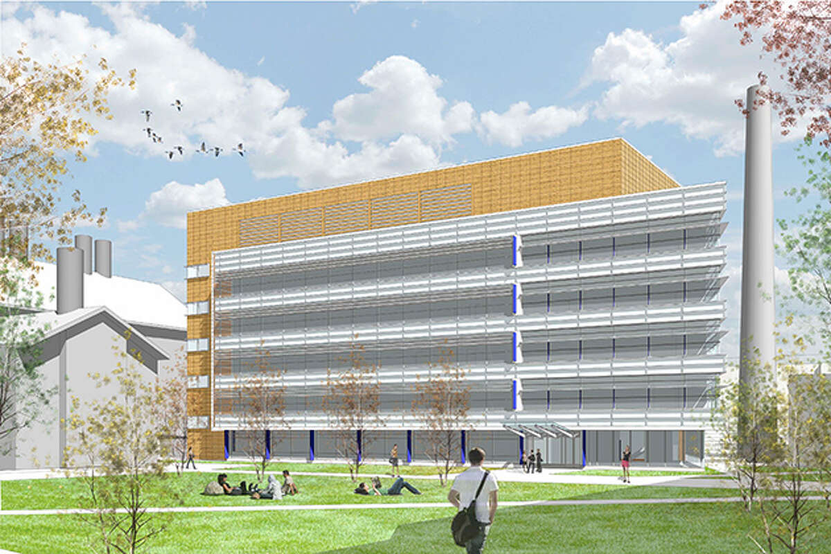 A rendering of the new UConn Engineering & Science Building