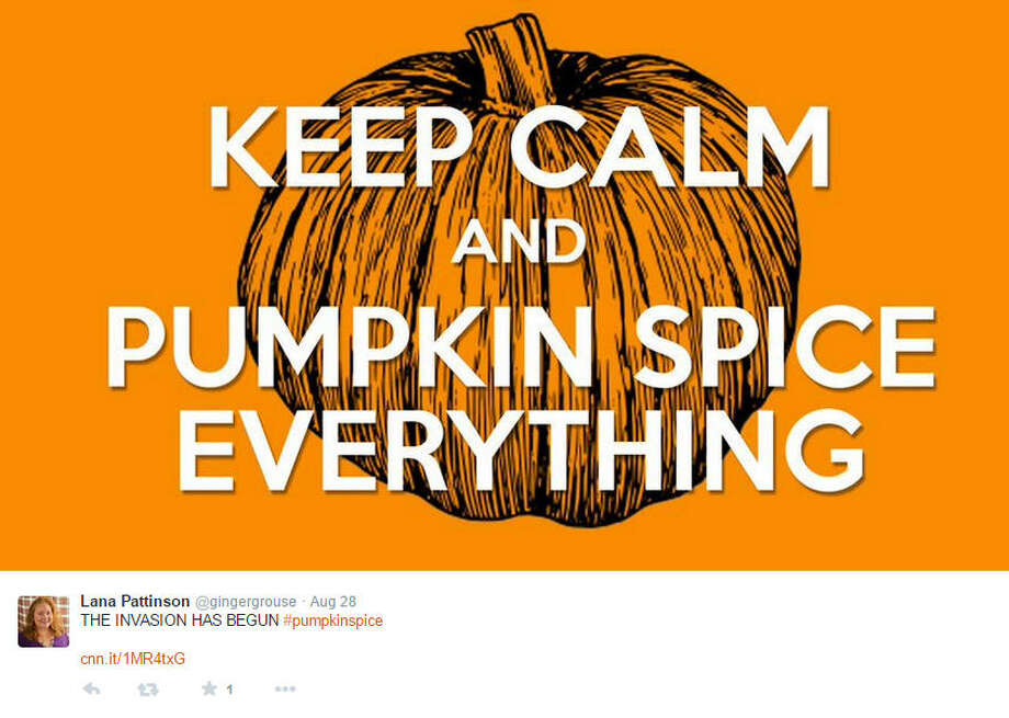 Twitter users ushered in fall with a fresh round of Pumpkin Spice Latte memes on the day of its annual release at Starbucks nationwide. Photo: On Twitter
