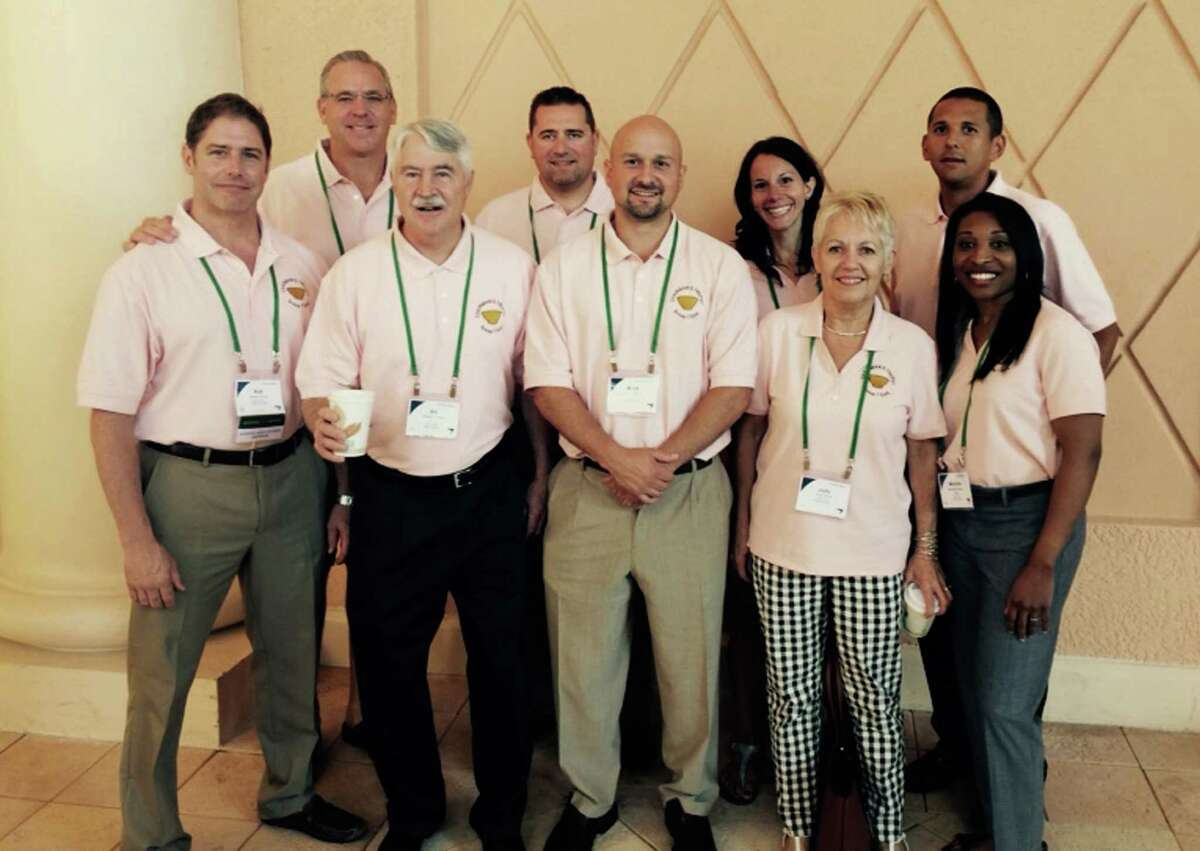 Charter Oak employees at a leadership conference in Orlando, Florida.