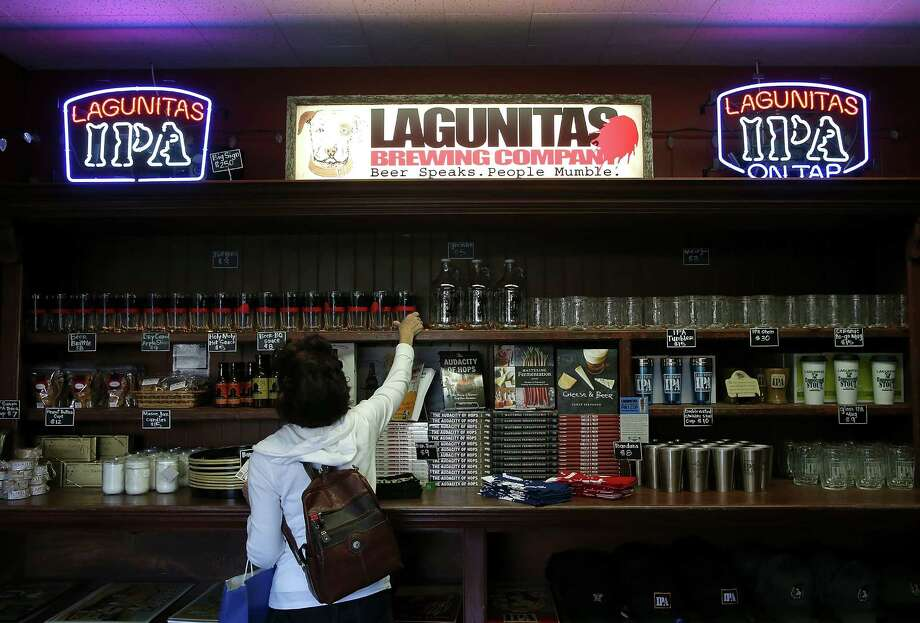 "Despite Magee proclaiming in 2012 that Lagunitas would be ""the last brewery in the U.S. to use aluminum cans,"" the Petaluma brewery does now, in fact, have its own canning line and cans its 12th of Never ale. Photo: Justin Sullivan, Getty Images / 2014 Getty Images"