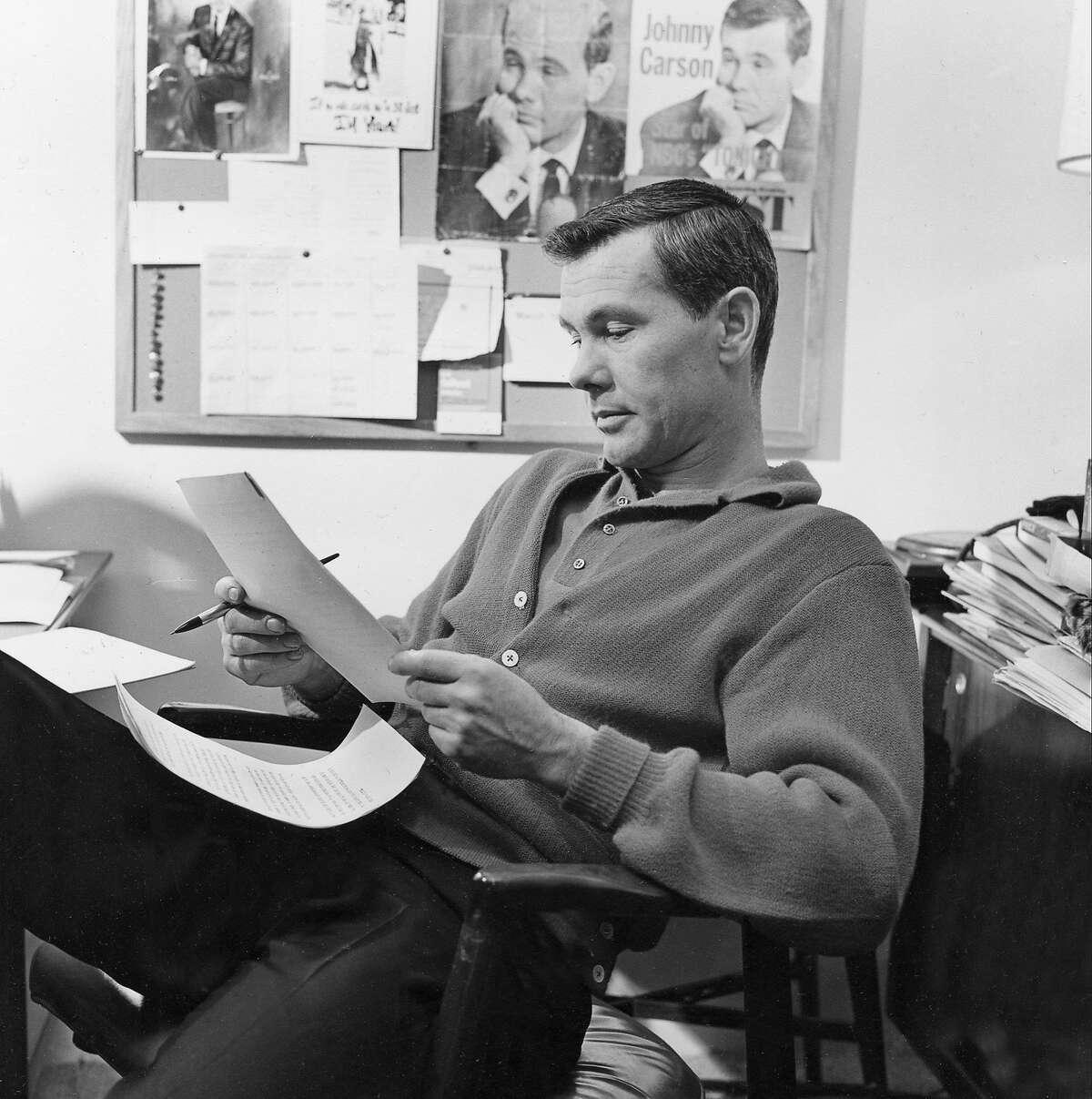 The Tonight Show Starring Johnny Carson Oct. 1, 1962 Rudy Vallee Tony Bennett Mel Brooks Joan Crawford