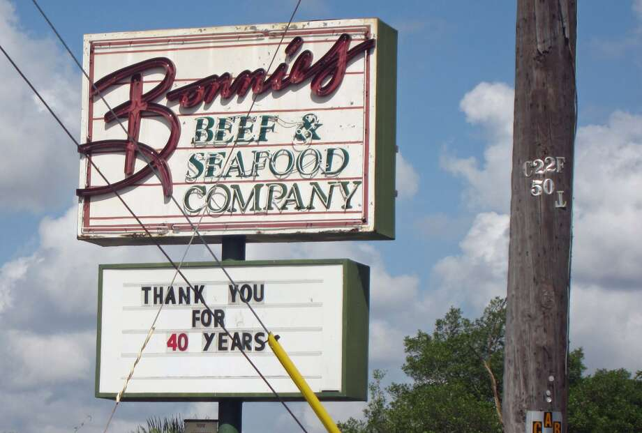 Bonnie's Beef and Seafood was located on I-45 near Griggs Road. Photo: Syd Kearney / Houston Chronicle