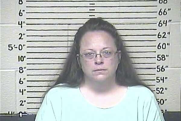 Kim Davis fue encarcelada el 3 de septiembre por orden de un juez federal.