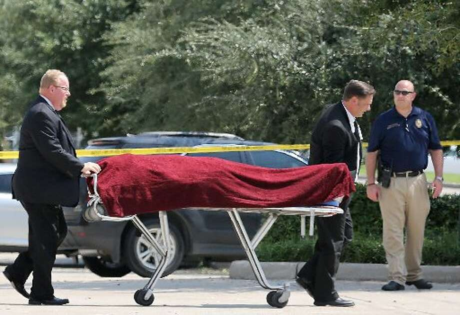 The suspected burglar killed himself, police said. Photo: Thomas B. Shea/For The Houston Chronicle