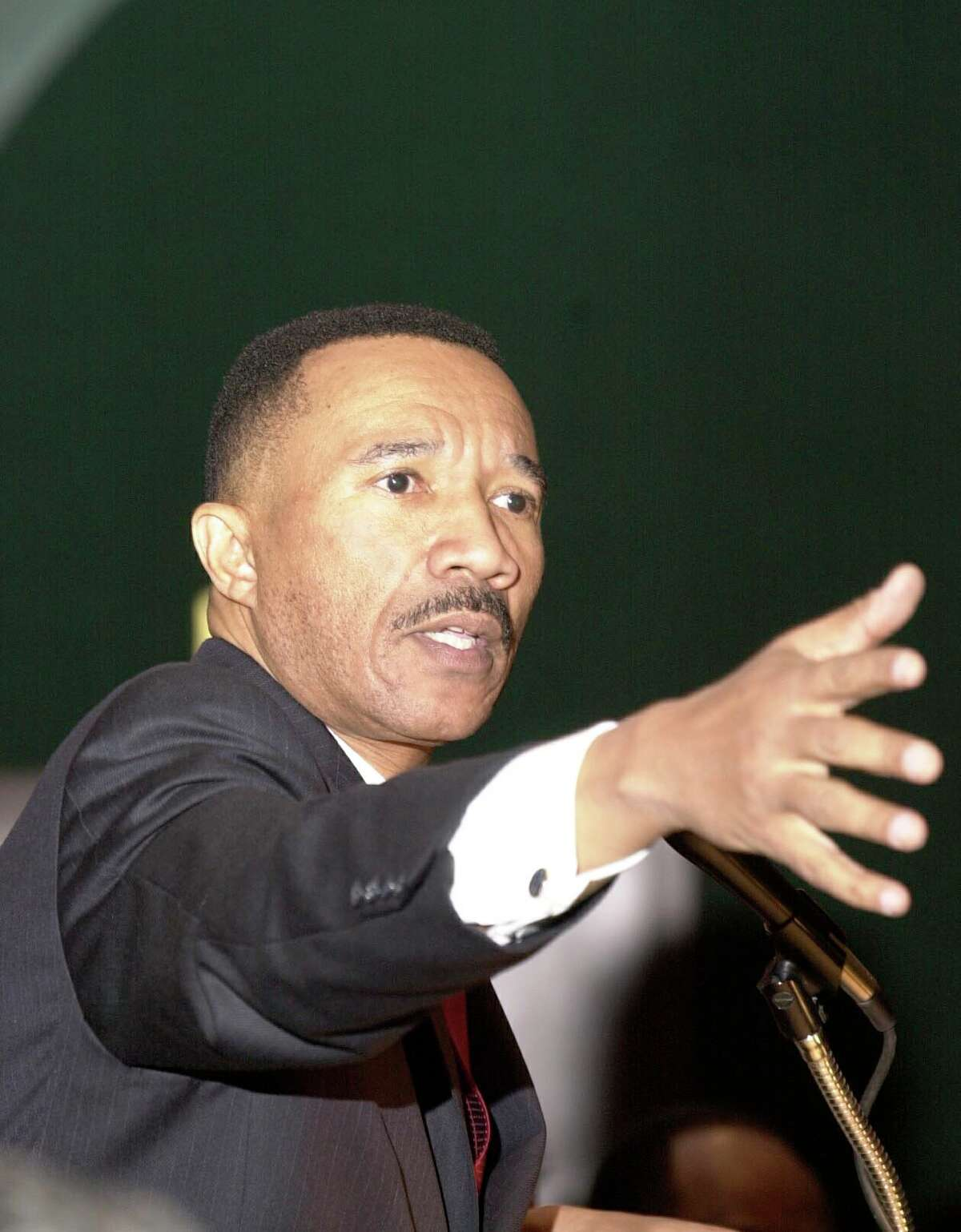 Kweisi Mfume, the former president and CEO of the NAACP, will speak at Norwalk Community College on Wednesday.