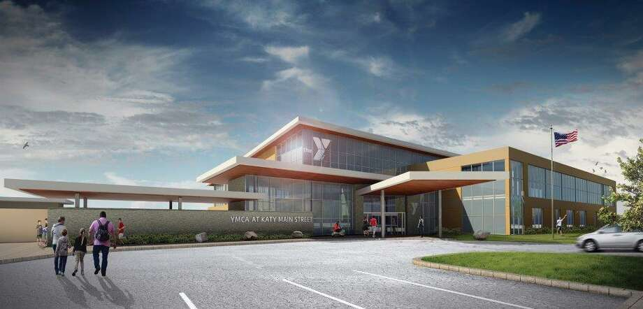 This is a rendering of what the second location for the Katy Family YMCA will look like. It is located near Katy Mills Mall. Photo: Courtesy Katy Family YMCA
