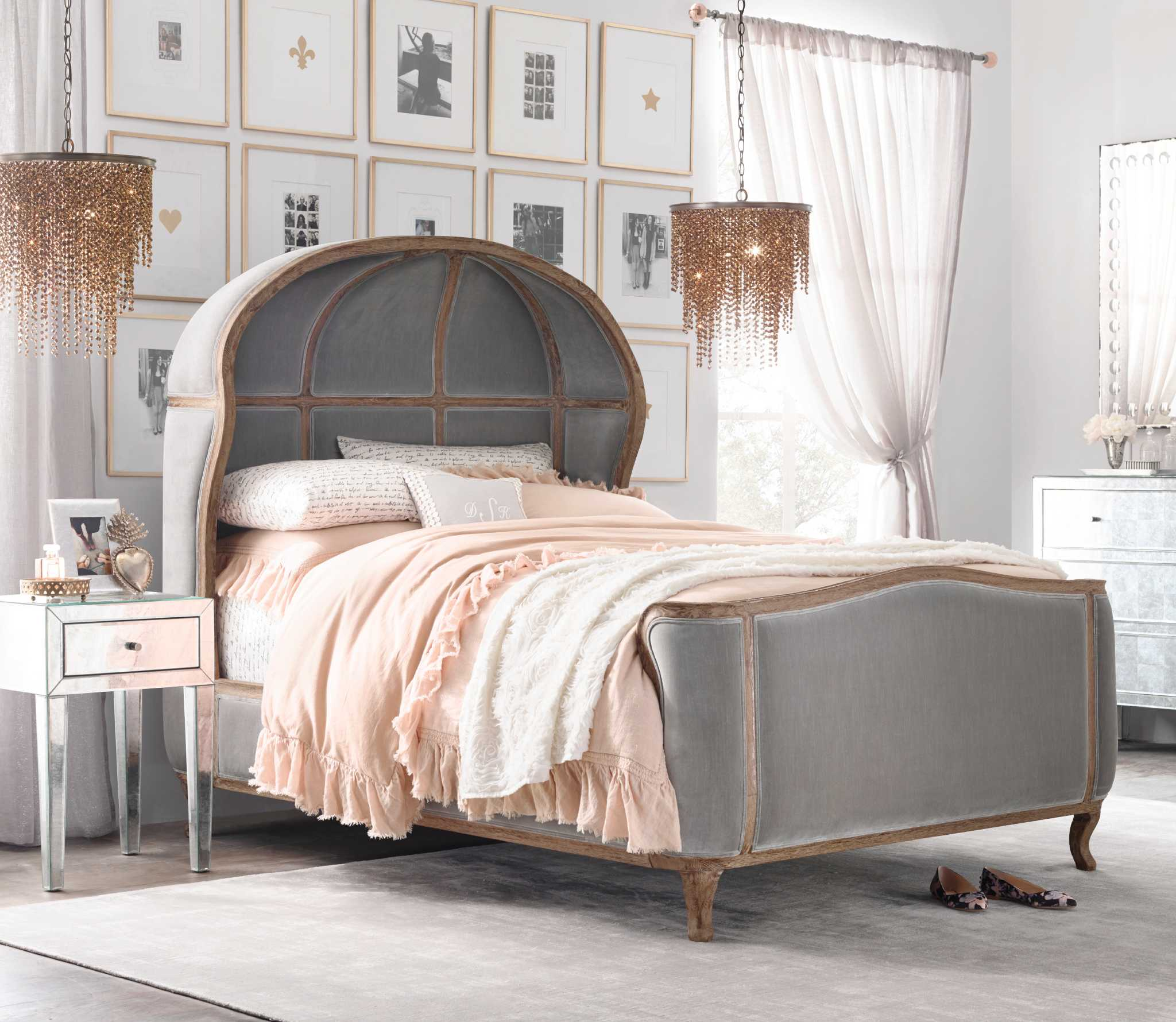 Restoration hardware bedroom furniture - Restoration Hardware Unveils New Collection For Teens Houston Chronicle