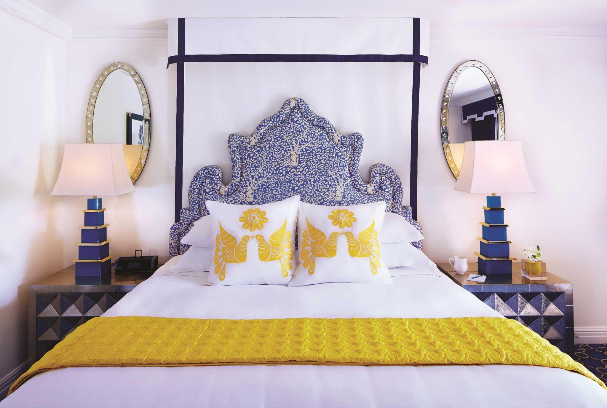 New Jonathan Adlerdesigned Hotel Wows In South Florida Houston - Jonathan adler bedroom