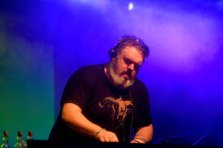 """Game of Thrones"" actor Kristian Nairn, who plays Hodor in the HBO series, has been playing DJ at Rave of Thrones events around the world. Nairn was a DJ and producer before being cast in ""GoT."" Photo: Anadolu Agency, Getty Images / 2014 Anadolu Agency"