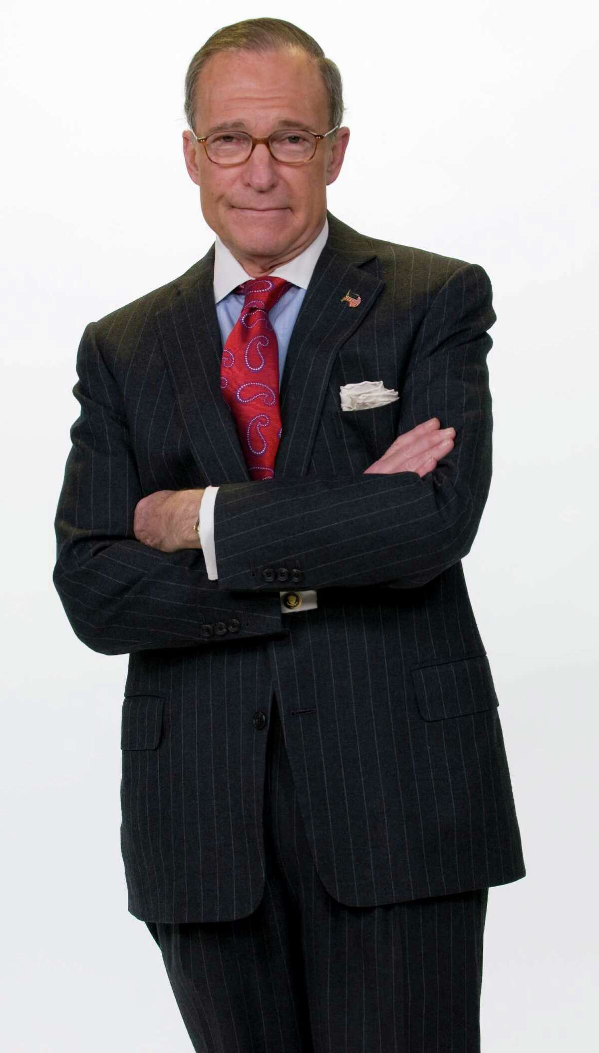 CNBC anchorman and nationally syndicated columnist Larry Kudlow seen in this contributed photo.