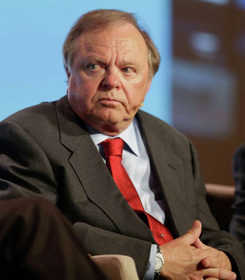 Harold Hamm, chairman and CEO Continental Resources, said his exploration and production company is slashing its spending by about $350 million more in 2015 as low oil prices persist. Photo: Billy Smith II, Staff / Houston Chronicle
