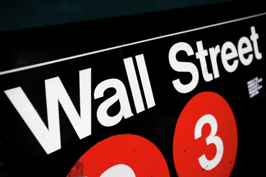 FILE - This Jan. 4, 2010 file photo shows an entrance to a Wall Street subway station in New York. European stocks rose Tuesday, Sept. 8, 2015 after a late rebound in Chinese markets and despite trade data showing headwinds for the global economy. (AP Photo/Mark Lennihan, File) ORG XMIT: NY108 Photo: Mark Lennihan / AP