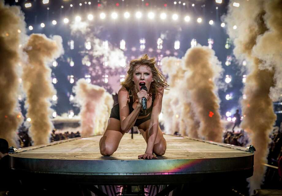 Singer-songwriter Taylor Swift brings the 1989 World Tour Live to Houston's Minute Maid Park. Last month, she played  In Los Angeles at the Staples Center. Photo: Christopher Polk, Staff / 2015 Getty Images