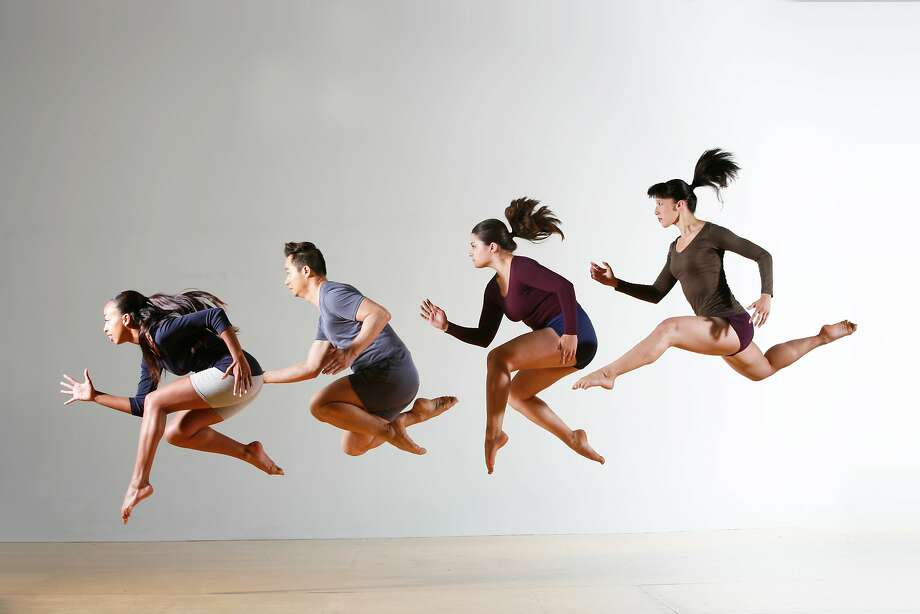 (L to R) Ashley Gayle, Kao Vey Saephanh, Elizabeth Sheets, Katerina Wong of PUSH Dance Company, one of 16 companies featured on two programs as part of PUSHfest 2015 September 18-20 at ODC Theater.  Photo by Matt Haber Photo: Matt Haber