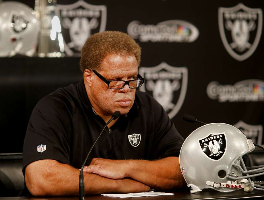 Reggie McKenzie probably needs to show some progress to keep his job as the Raiders' GM. Photo: Brant Ward, The Chronicle