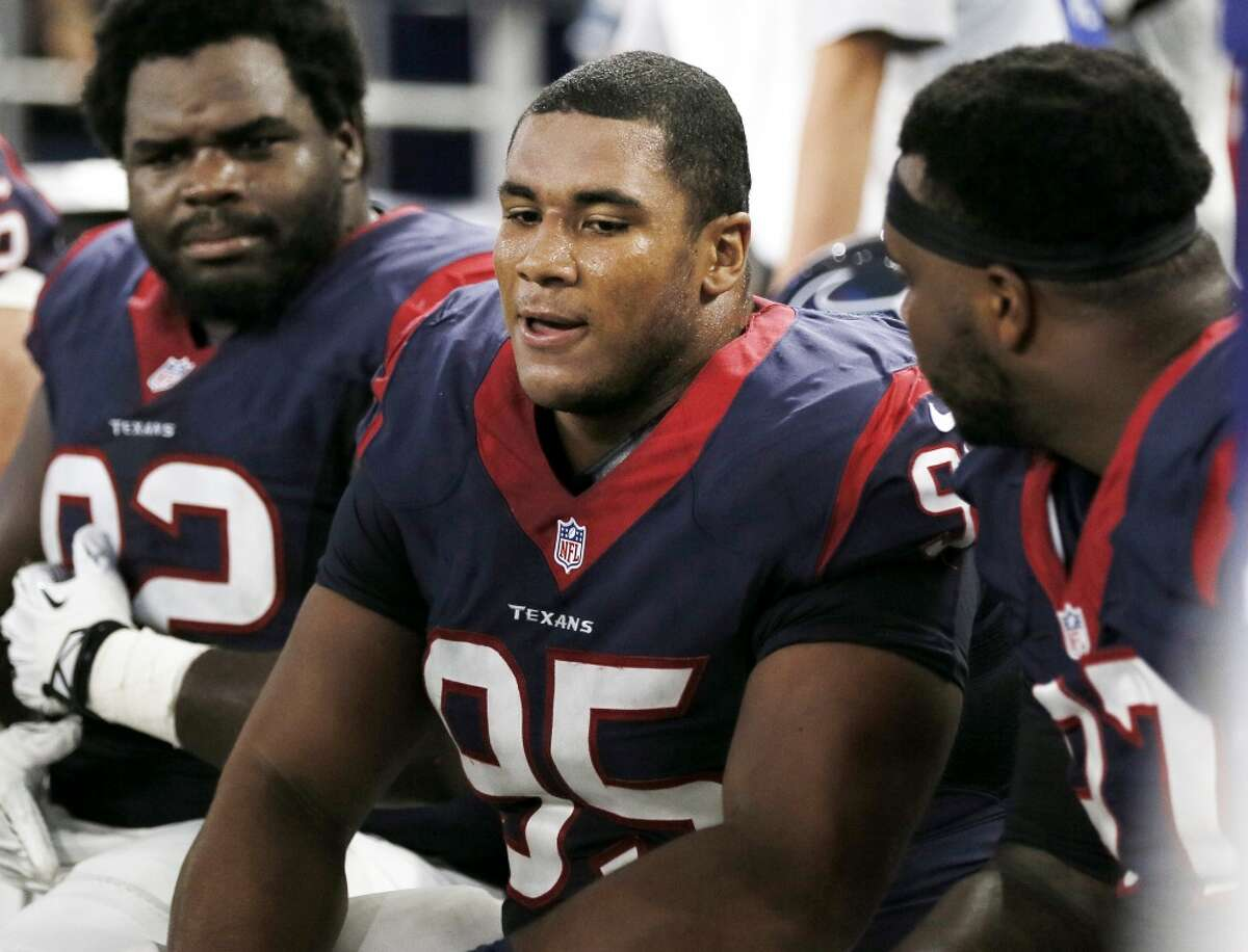 Christian Covington will be on the Texans' active roster today after not practicing Friday. Click through the gallery for John McClain's guide to the game.