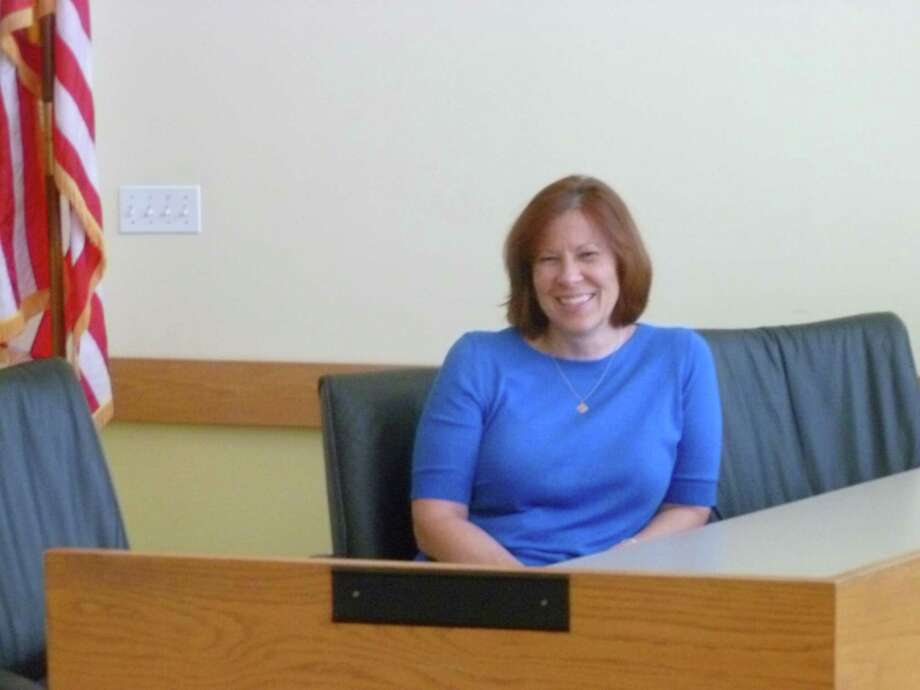 Kathleen Buch will take over as Darien's new town administrator on Sept. 14 after 15 years as finance director. Photo: Martin Cassidy / Hearst Connecticut Media / Darien News