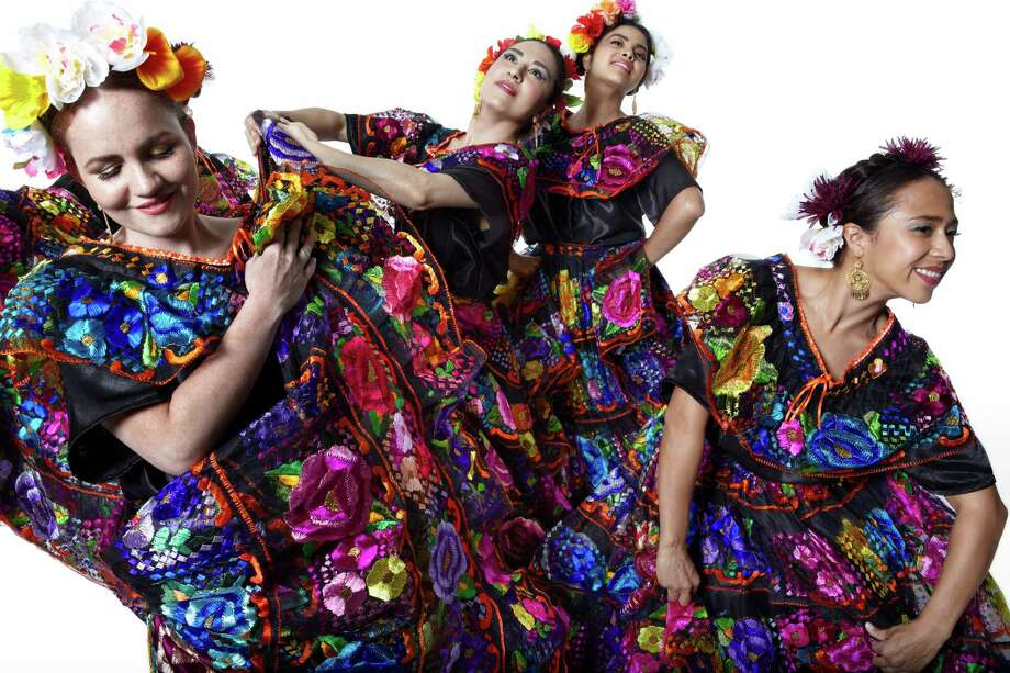 Calpulli Mexican Dance Company makes its Houston debut Friday at the Wortham Theater Center. Photo: Capulli Mexican Dance Company / Copyright ©2014 Julieta Cervantes