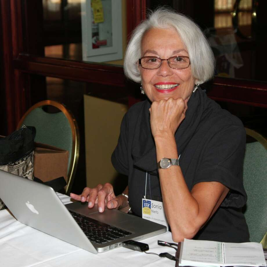 "Sonia Nieto, professor emerita of language, literacy and culture at the University of Massachusetts, Amherst, will discuss her new book, ""Why We Teach Now,"" at 7 p.m. on Tuesday, Sept. 29, at the North Haven Campus of Quinnipiac University, 370 Bassett Road. Photo: Contributed / Contributed / Connecticut Post"
