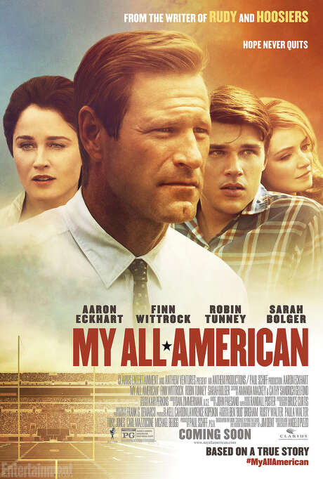 """My All American,"" a new football film coming in October. Photo: Courtesy Photo"
