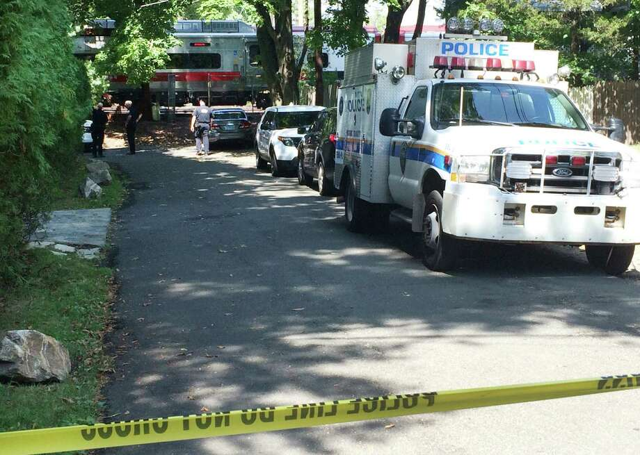 A man was struck and killed by a New Haven-bound Metro North train  on the tracks just east of the station in Westport, Conn. on Wednesday Sept. 9, 2015. The train that struck the man at 11:20 a.m. is being held at the station during the investigation. It had left Grand Central Terminal at 10:04, and was due in New Haven at 12:10 p.m. Photo: Brian A. Pounds / Hearst Connecticut Media / Connecticut Post