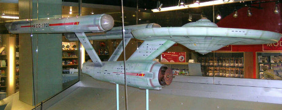 "The 11-foot model of the ""Star Trek Starship Enterprise, which was seen in all 79 episodes of the original TV show, is being refurbished to its original luster when it was first constructed in Dec. 1964 during pre-production by the Smithsonian."