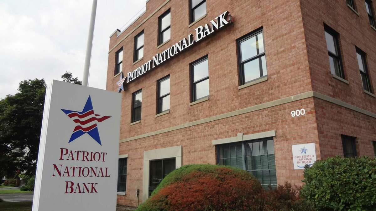 Patriot National Bancorp headquarters at 900 Bedford St. in Stamford.