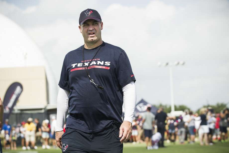 Winner: Bill O'Brien  The Texans' passionate, and at times foul-mouthed head coach was undoubtedly the biggest star of this year's series. When he's done coaching, he'll either have a TV job waiting for him ... or a part in a Martin Scorcese movie given how well he can dish out  the profanity. Photo: Brett Coomer, Houston Chronicle