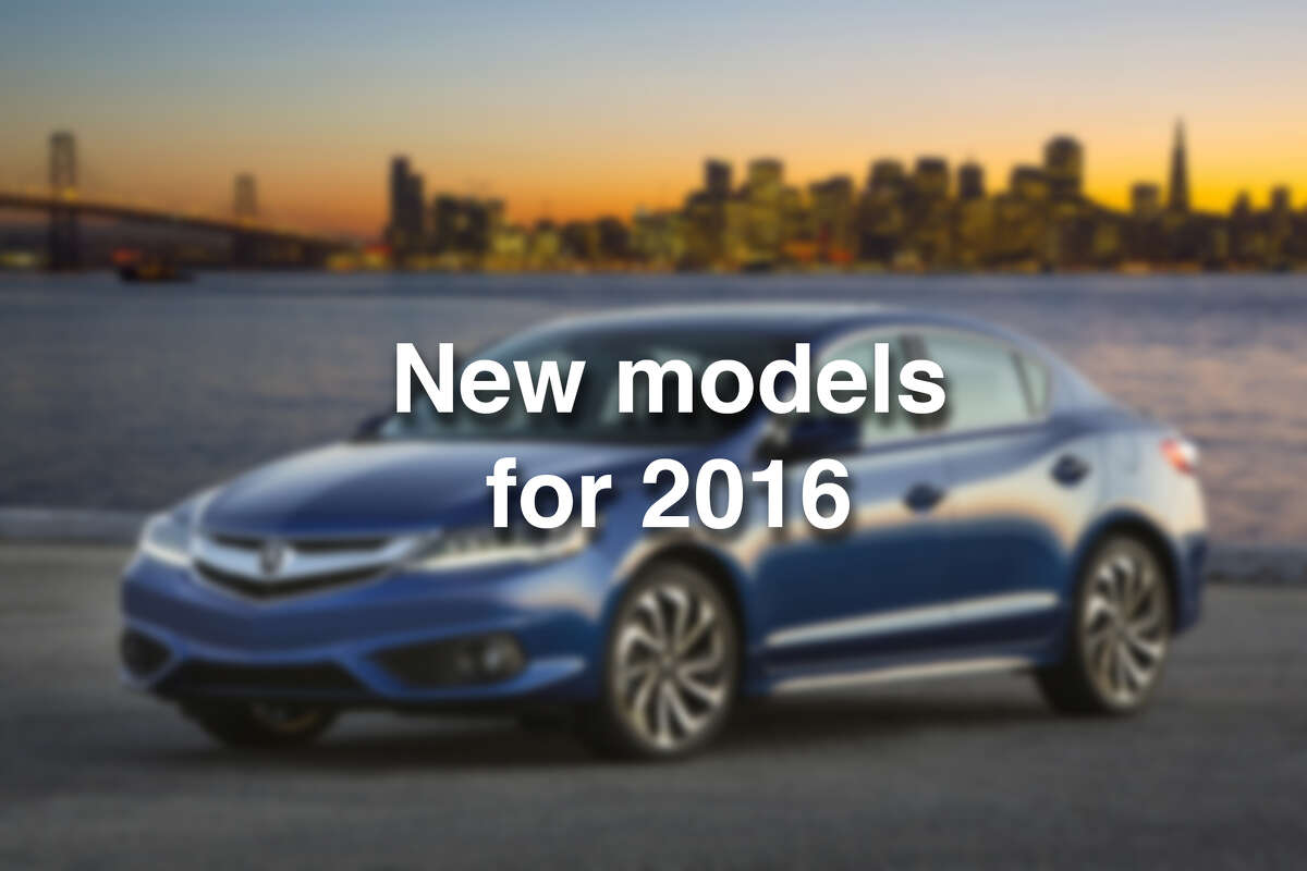 Click through the photos to see all the new car models for 2016.