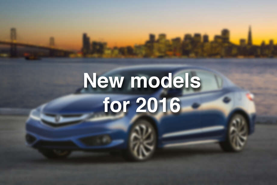 Photos All the new cars for 2016  Times Union
