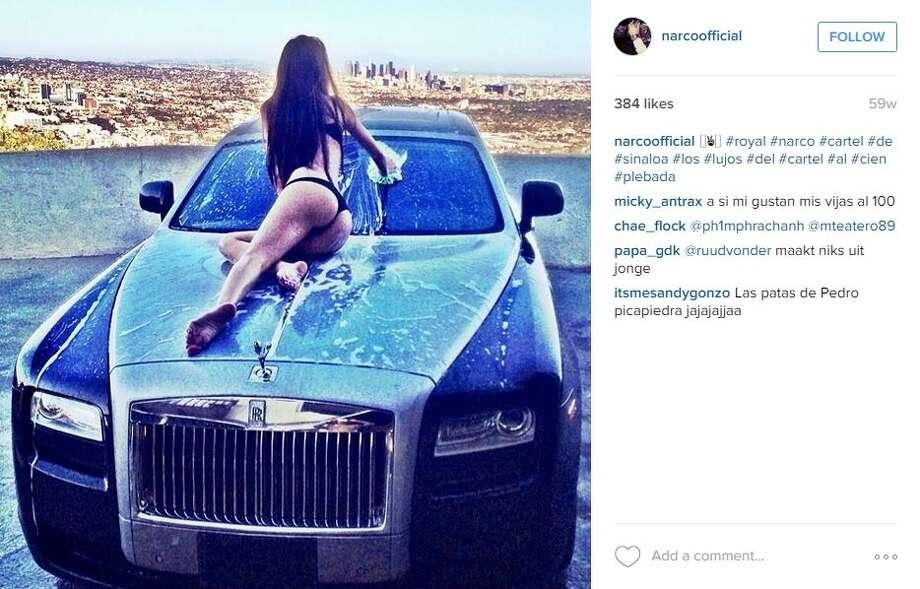 Mexican Drug Cartels Show Off On Instagram San Antonio