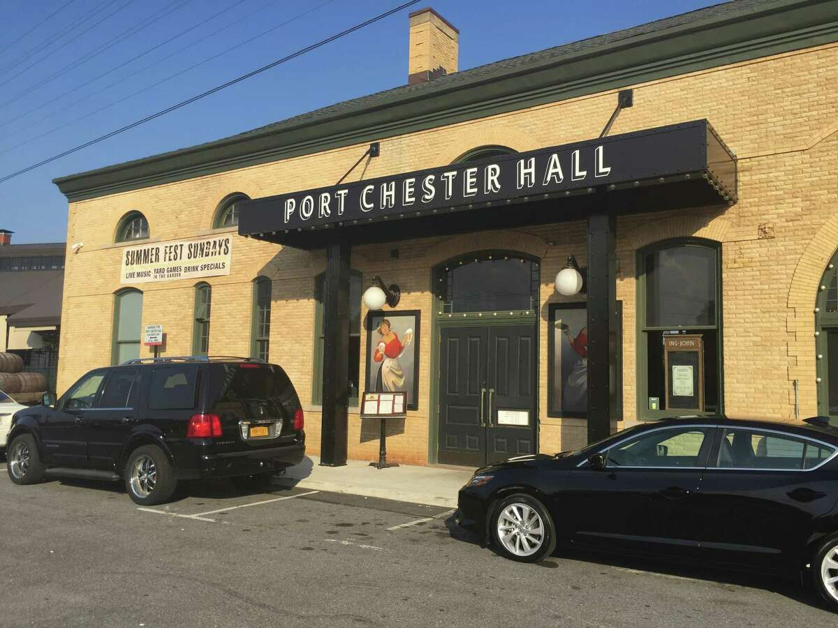 Port Chester Hall, is part of a burgeoning happy hour scene in Port Chester, N.Y., just over the Greenwich border.