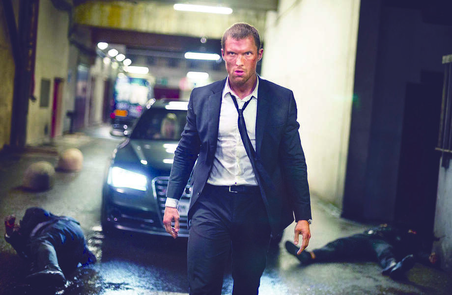 "Ed Skrein stars in ""The Transporter Refueled."" Illustrates FILM-TRANSPORTER (category e), by Michael O'Sullivan © 2015, The Washington Post. Moved Thursday, Sept. 3, 2015. (MUST CREDIT: Bruno Calvo/EUROPACORP.) Photo: HANDOUT / THE WASHINGTON POST"