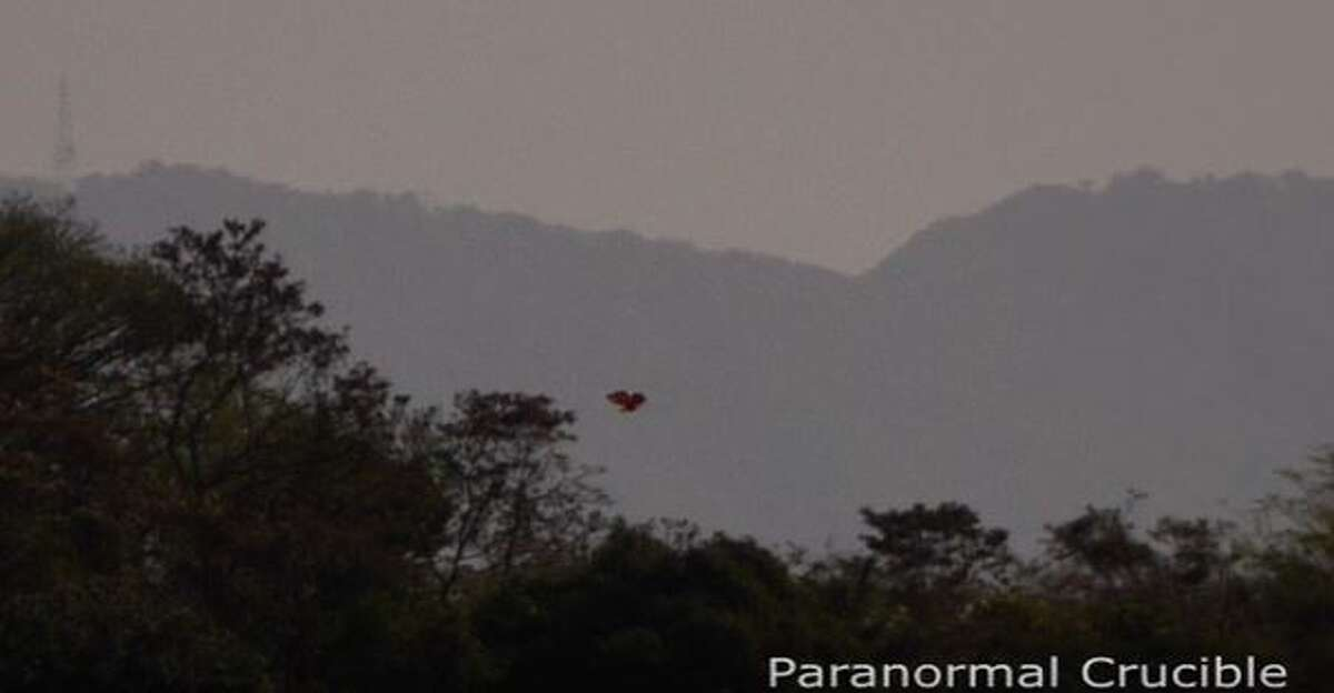 This unidentified object was spotted March 22, 2015, near Ciudad Colon, Costa Rica. (Paranormal Crucible via YouTube)