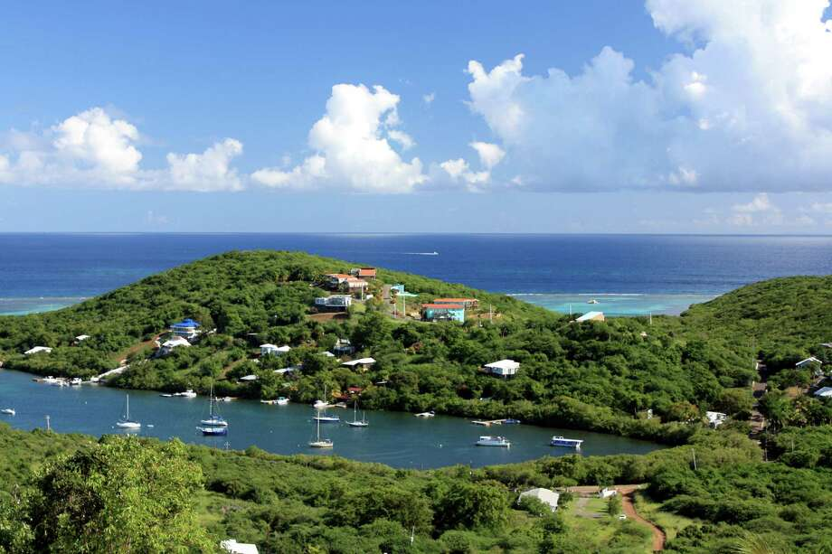 Sailboats dot Fulladosa Bay in Culebra, Puerto Rico. Photo: ERIN WILLIAMS, STR / THE WASHINGTON POST