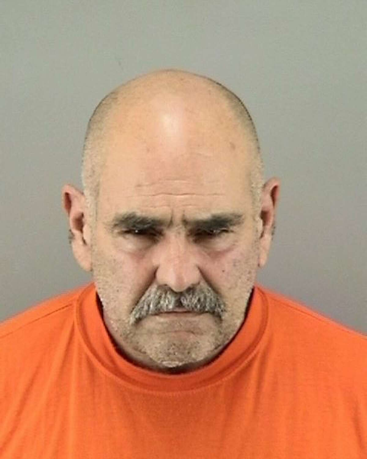 John Schenone, 62, of San Francisco was arrested on vandalism and hate-crime charges stemming from a rash of anti-Chinese graffiti in San Francisco's Portola and Bayview neighborhoods.