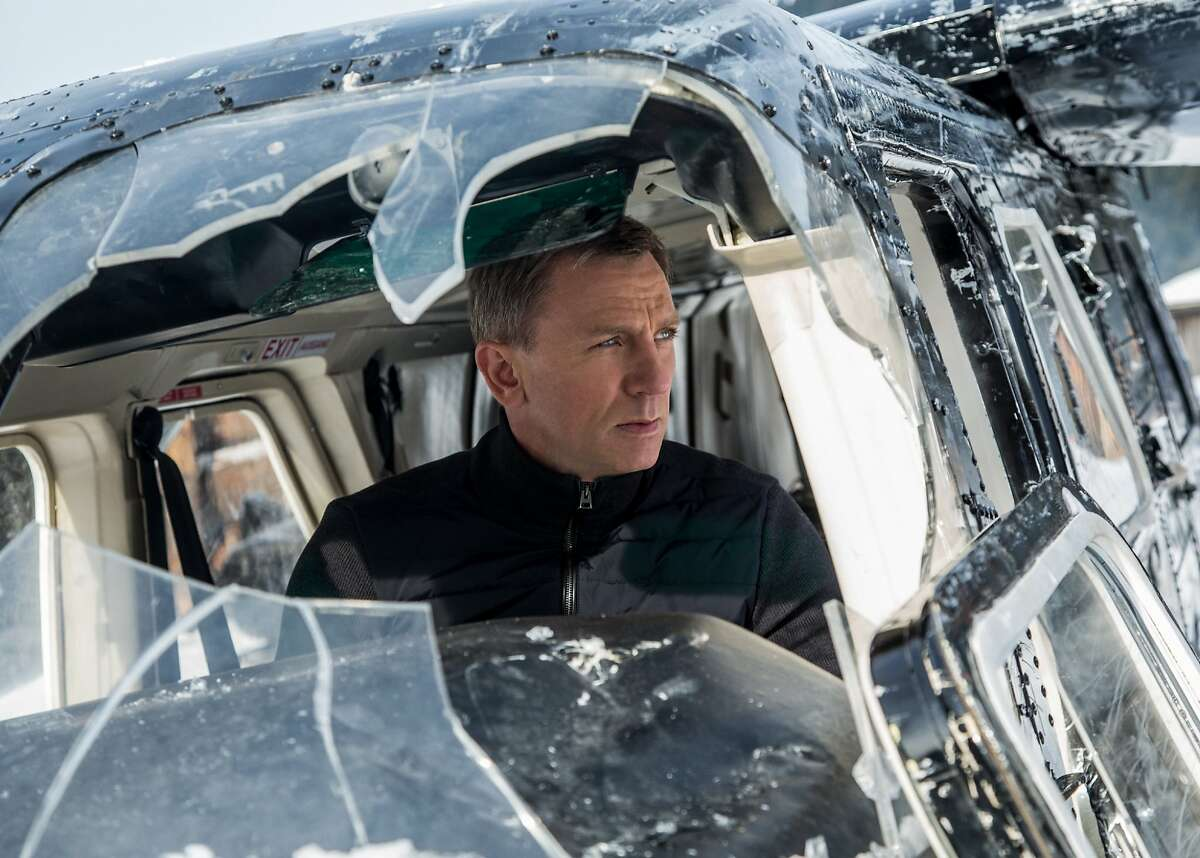 """I TOLD YOU TO TURN THAT MUSIC DOWN Sam Smith (not pictured) will sing the theme song for """"Spectre,"""" the fourth James Bond movie to star Daniel Craig (pictured). Smith joins a long and illustrious list of crooners to warble for our favorite MI6 agent. """"Spectre"""" opens Nov. 6. Photo: Courtesy of Sony Pictures Entertainment"""