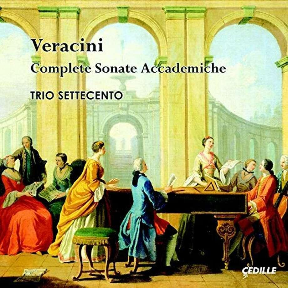 CD cover: Veracini, Sonatas Photo: Çedille Records