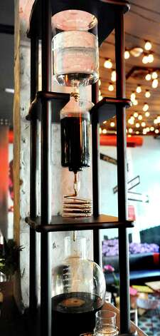 Tequila drip at the bar on Friday, Sept. 4, 2015, at Ama Cocina in Albany, N.Y. (Cindy Schultz / Times Union) Photo: Cindy Schultz / 00033218A