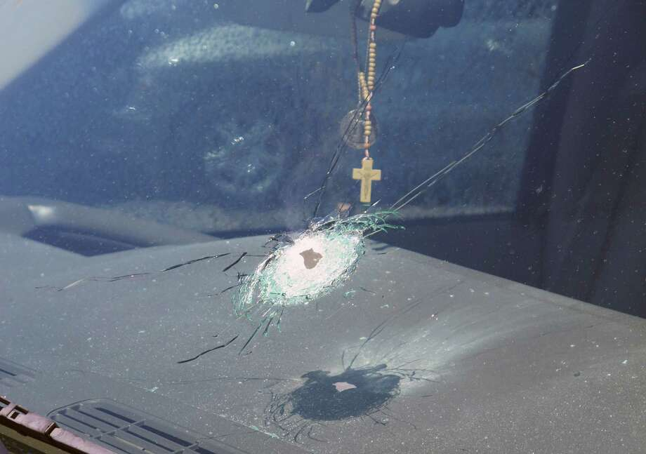 Four vehicles traveling on the same freeway in the heart of Phoenix have been struck by gunshots in the last week, and the state police agency is appealing for information from the public as it conducts what it says is a robust investigation.  Photo: HOGP / Arizona Department of Public Saf