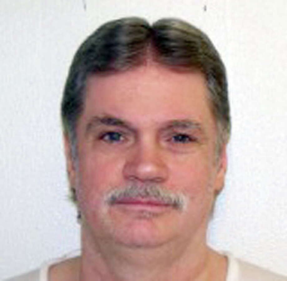 This undated handout photo provided by the Arkansas Department of Correction shows Bruce Earl Ward. Arkansas will resume lethal injections after a 10-year gap in October 2015 with a double execution. Ward and Don William Davis are scheduled to die Oct. 21. Ward, a former perfume salesman was convicted in the 1989 killing of 18-year-old Rebecca Doss. (Arkansas Department of Correction, via AP) Photo: HOGP / Arkansas Department of Correctio