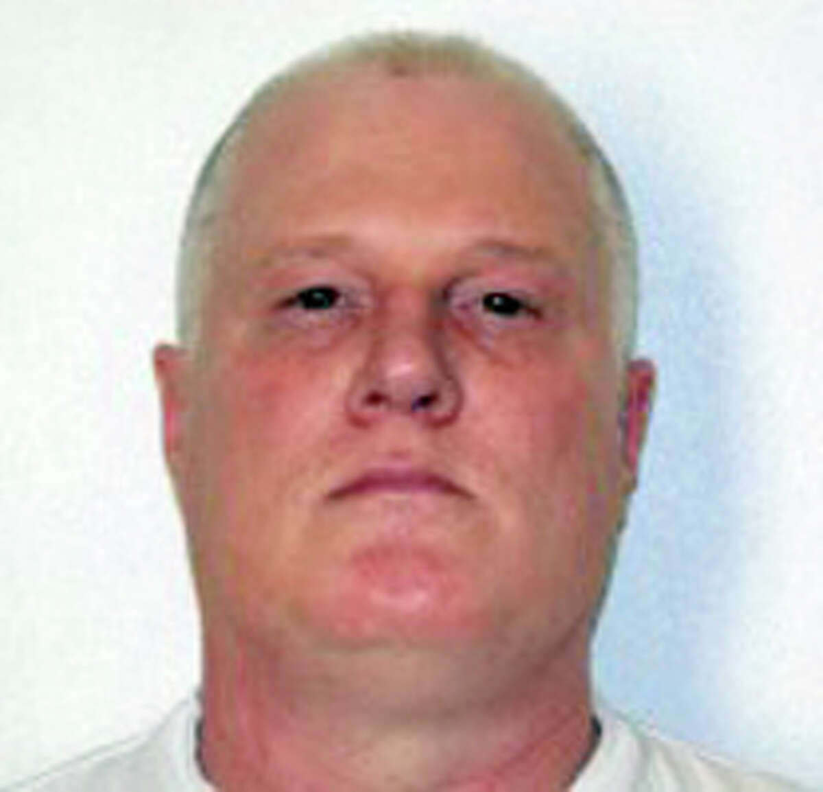 This undated handout photo provided by the Arkansas Department of Correction shows Don William Davis. Arkansas will resume lethal injections after a 10-year gap in October 2015 with a double execution. Davis and Bruce Earl Ward are scheduled to die Oct. 21. Davis was sentenced to death for the 1990 killing of Jane Daniels in northwest Arkansas. (Arkansas Department of Correction, via AP)