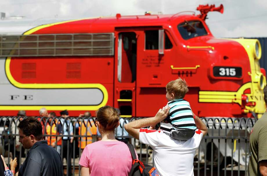 The popular Santa Fe Warbonnet locomotive returns to this year's Fall Fun Fest at the Railroad Museum on Sept. 19 in Rosenberg. The event includes entertainment, train-themed crafts, model train layouts, and guided tours. Photo: J. Patric Schneider, Freelance / © 2014 Houston Chronicle